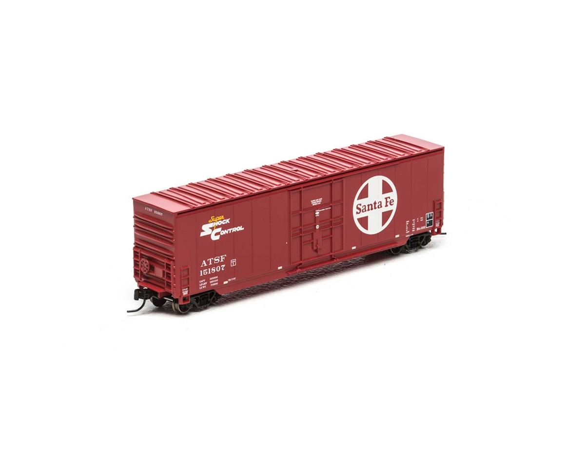 Athearn N 50' Smooth High Cube Plug Door Box, SF #151807