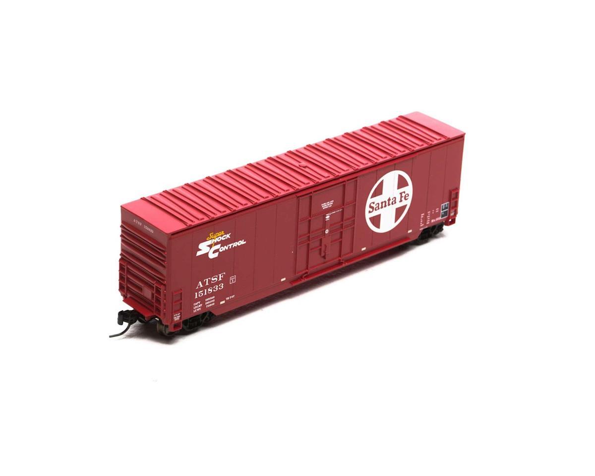 Athearn N 50' Smooth High Cube Plug Door Box, SF #151833