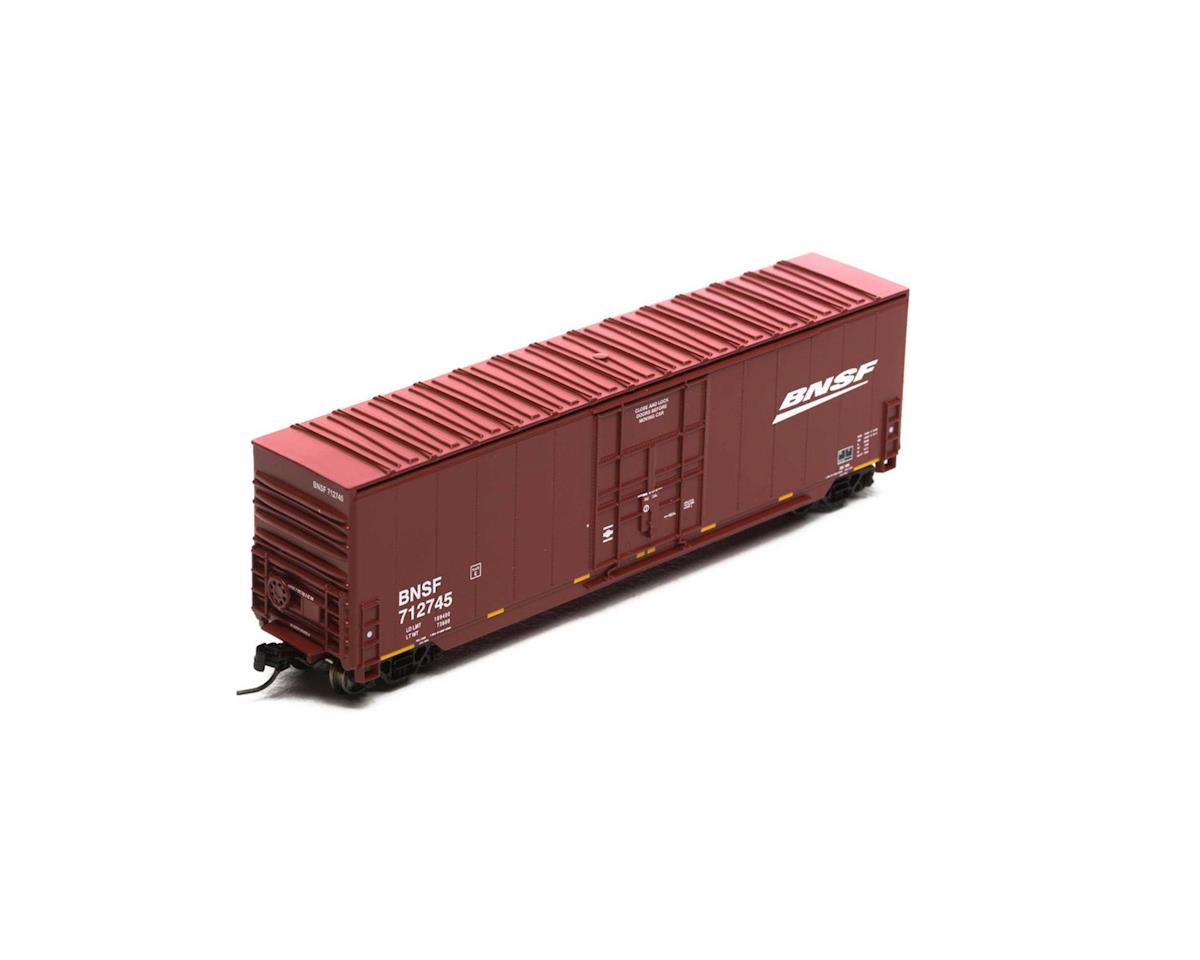 Athearn N 50' Smooth High Cube Plug Door Box, BNSF #712745