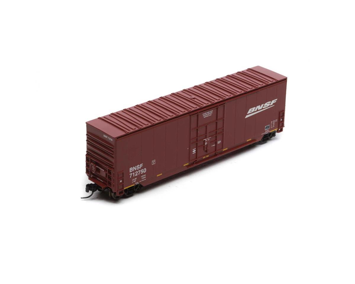 Athearn N 50' Smooth High Cube Plug Door Box, BNSF #712750