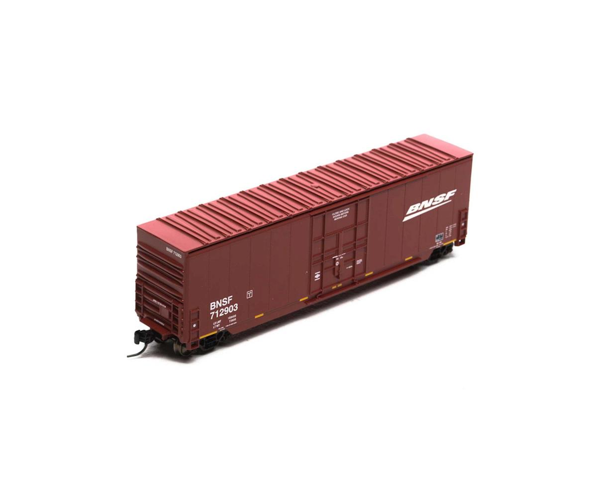 Athearn N 50' Smooth High Cube Plug Door Box, BNSF #712903