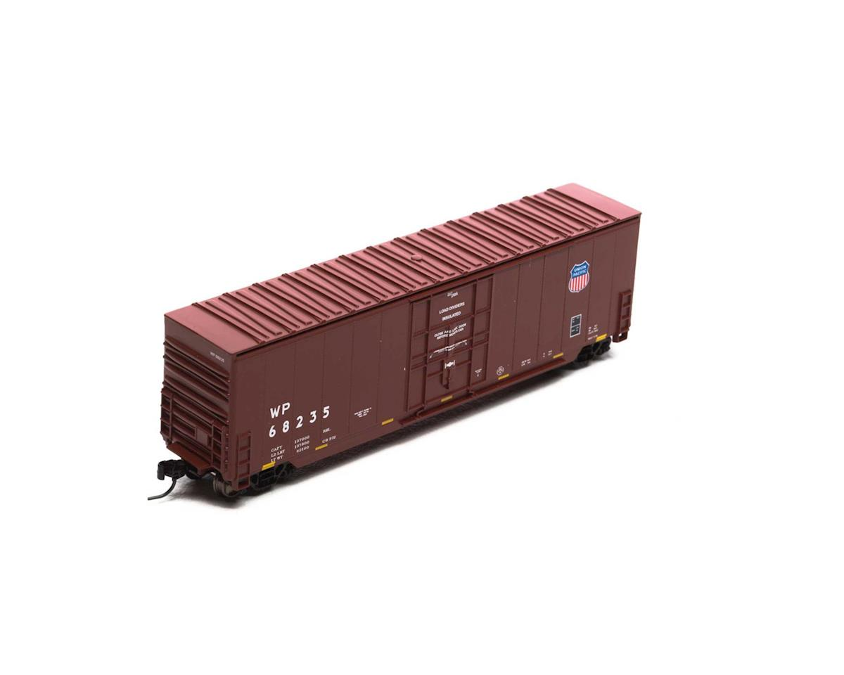 Athearn N 50' High Cube Plug Door Box, WP/UP Logo #68235