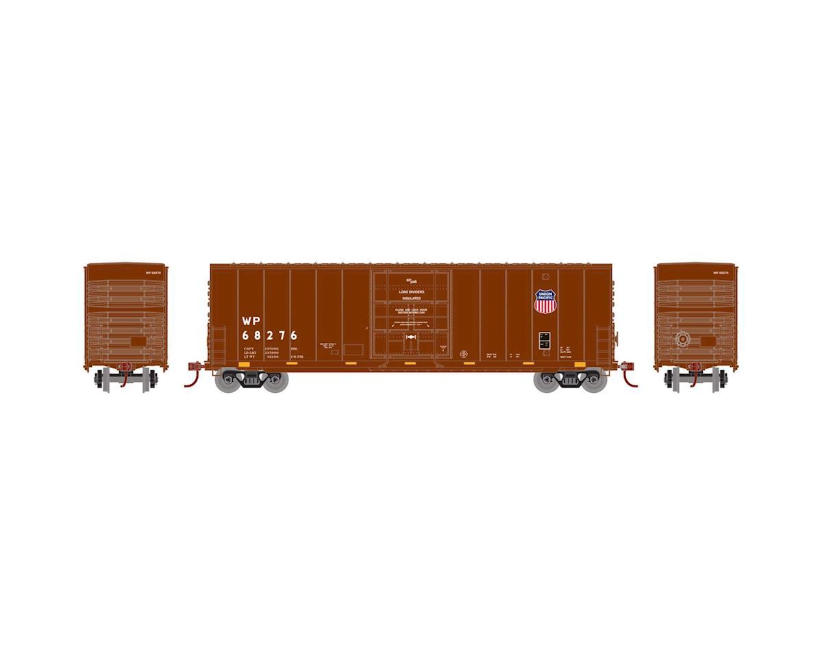 Athearn N 50' High Cube Plug Door Box, WP/UP Logo #68276
