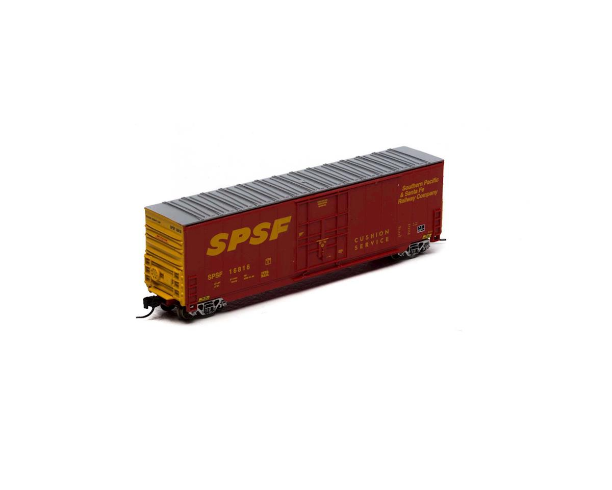 Athearn N 50' Smooth High Cube Plug Door Box, SPSF #16816