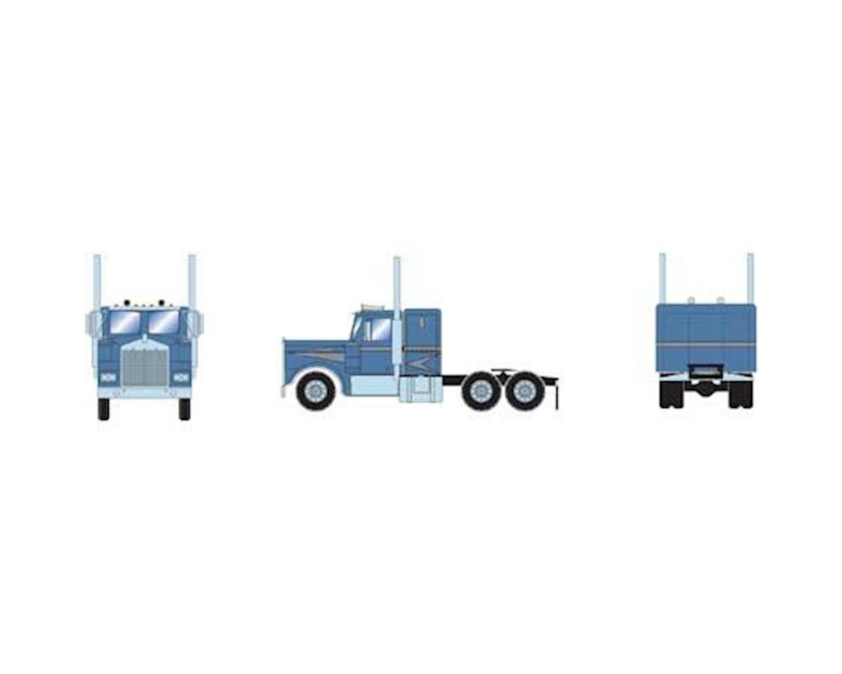 Athearn HO RTR KW Tractor, Metallic Blue & Silver
