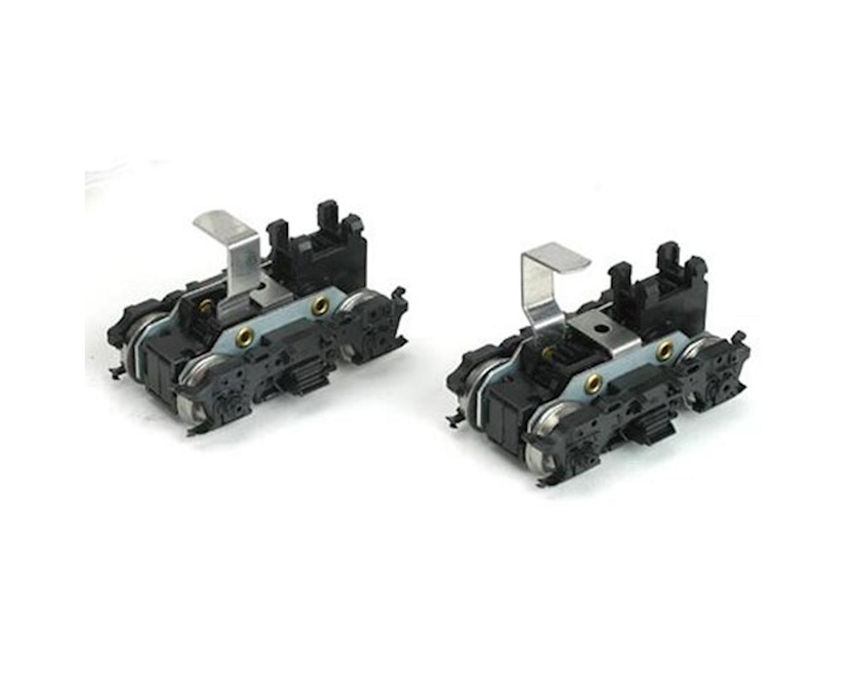 Athearn HO Front/Rear Power Truck Set, M-Blomberg