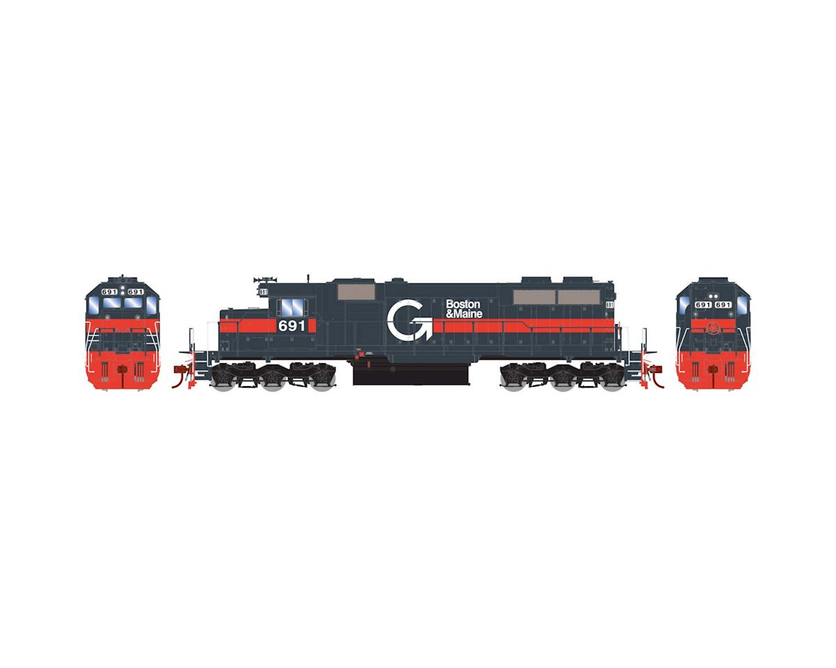 Athearn HO RTR SD39 w/DCC & Sound, Guilford/B&M #691