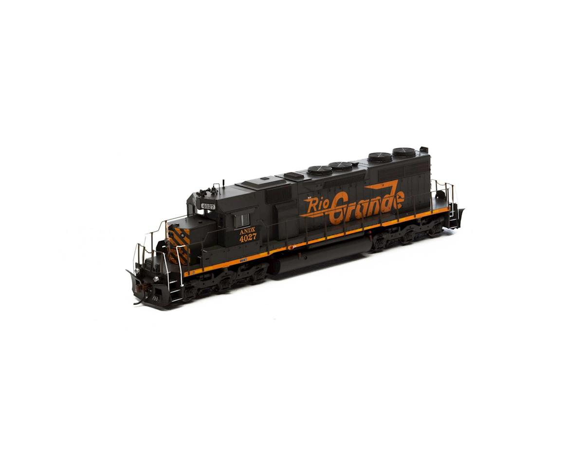 Athearn HO RTR SD39 w/DCC & Sound, ANDX/DRG&W #4027