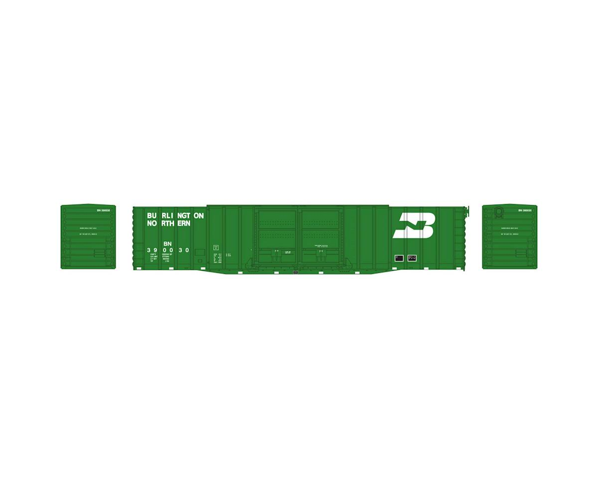 Athearn N 60' PS Auto Box, BN #390030