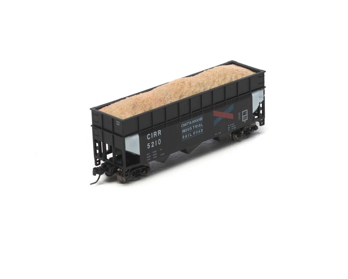 Athearn N 40' Wood Chip Hopper w/Load, CIRR #5210