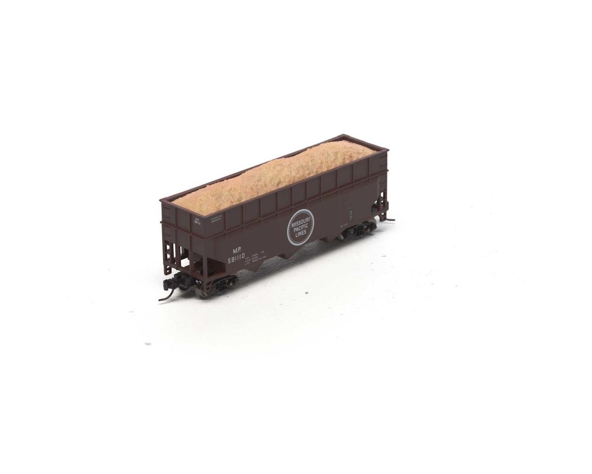 Athearn N 40' Wood Chip Hopper w/Load, MP #591110