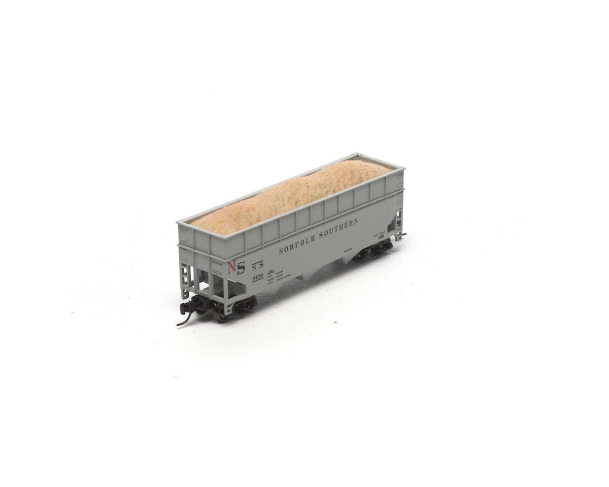 Athearn N 40' Wood Chip Hopper w/Load, NS #9106