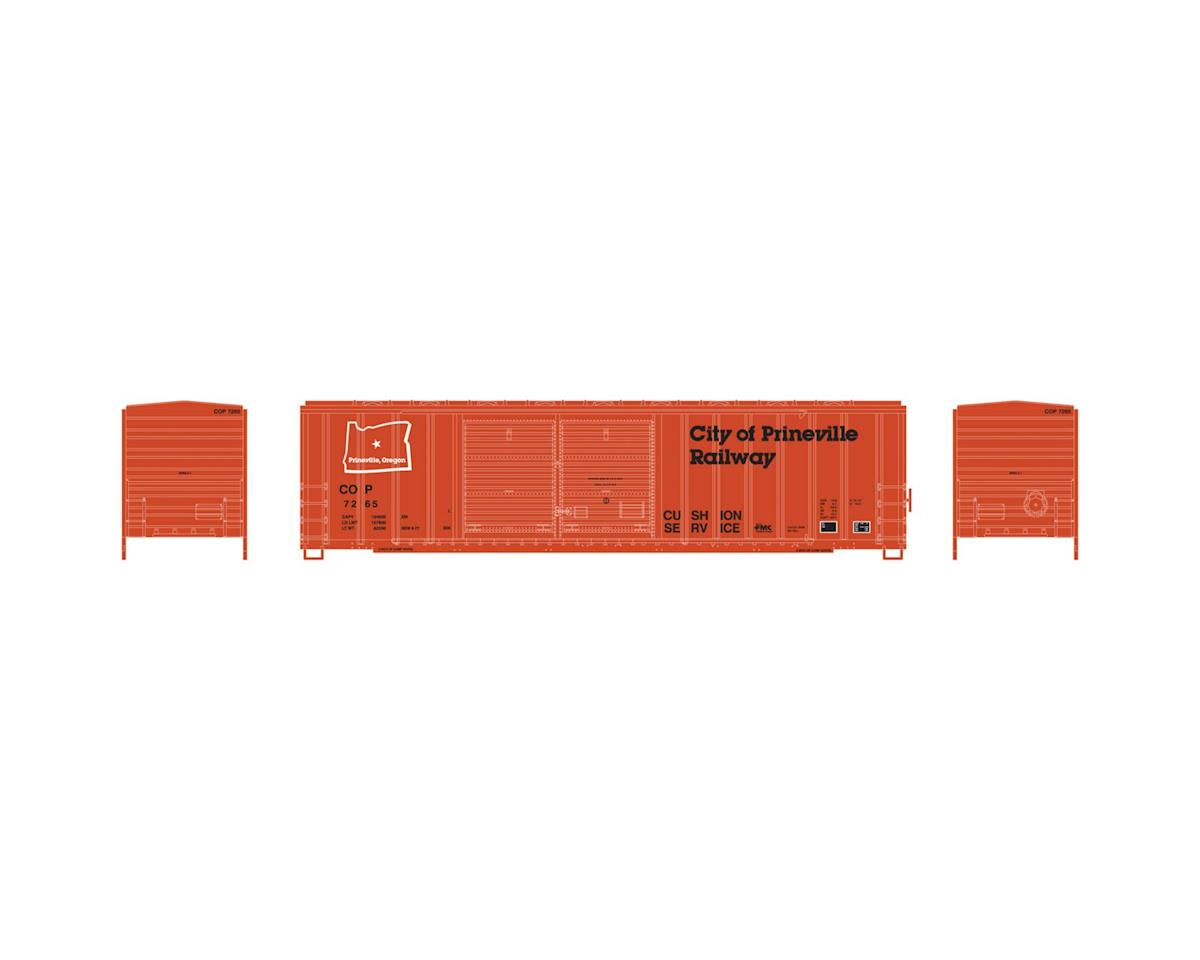 Athearn N 50' FMC Offset Double Door Box, COP #7265