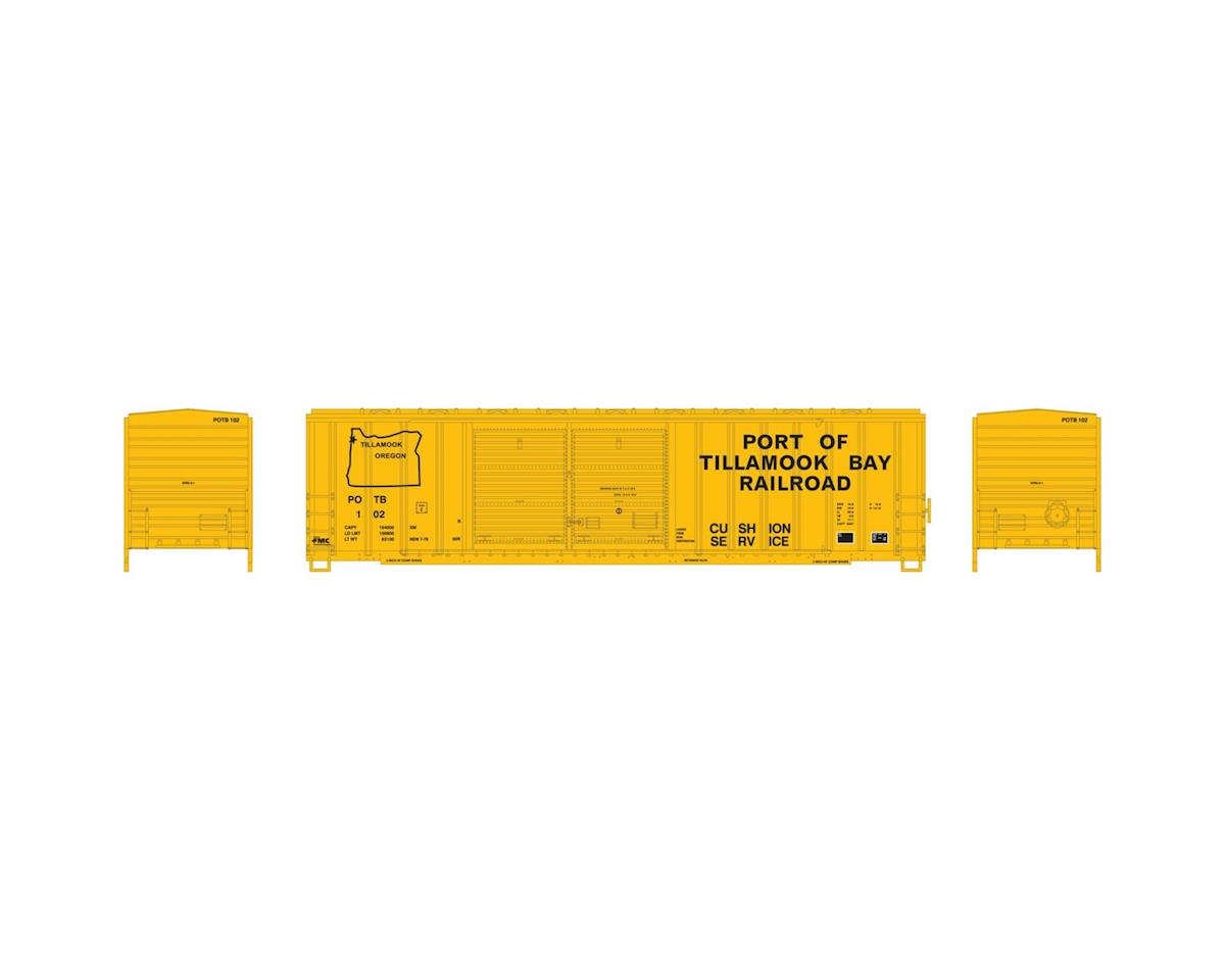 Athearn N 50' FMC Offset Double Door Box, POTB #102