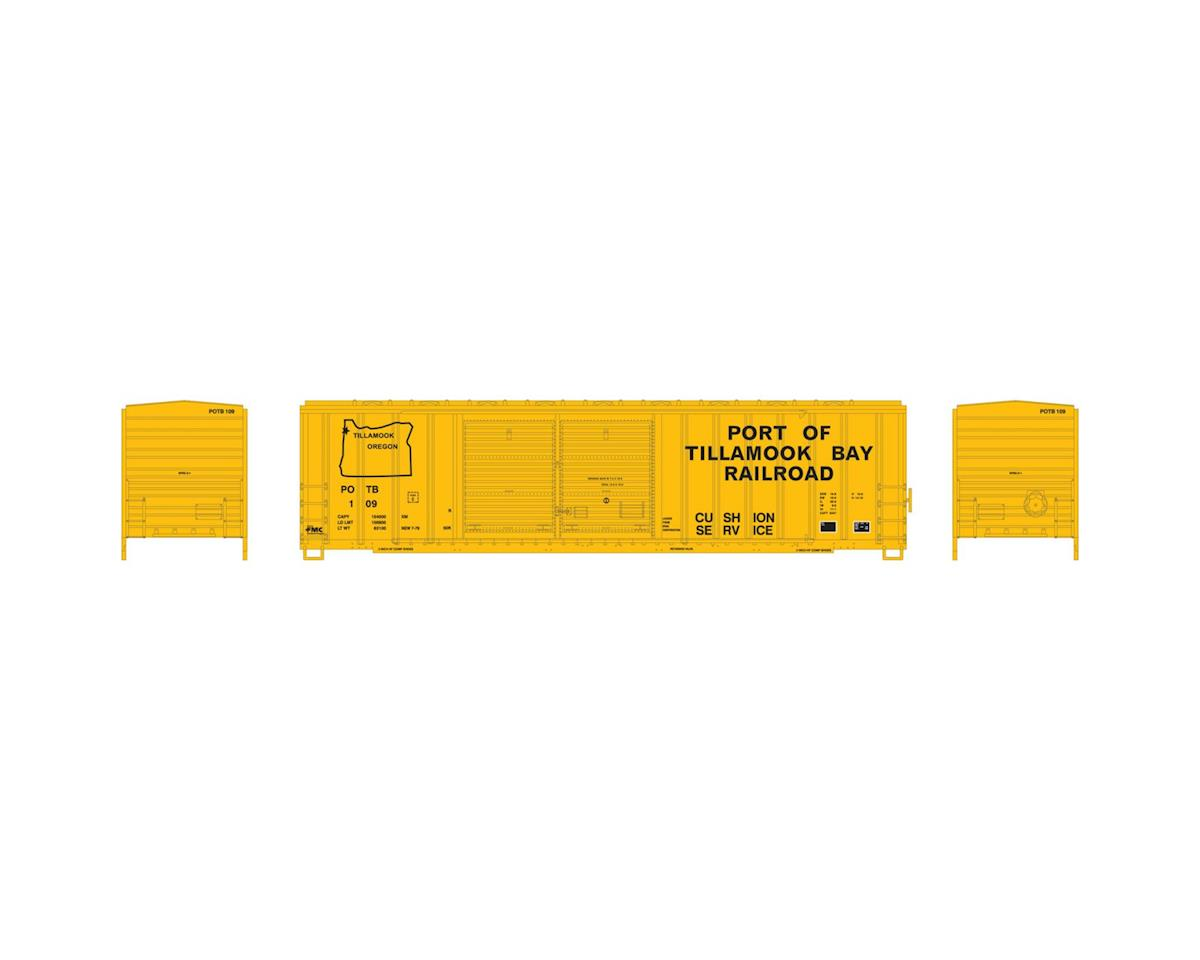 Athearn N 50' FMC Offset Double Door Box, POTB #109