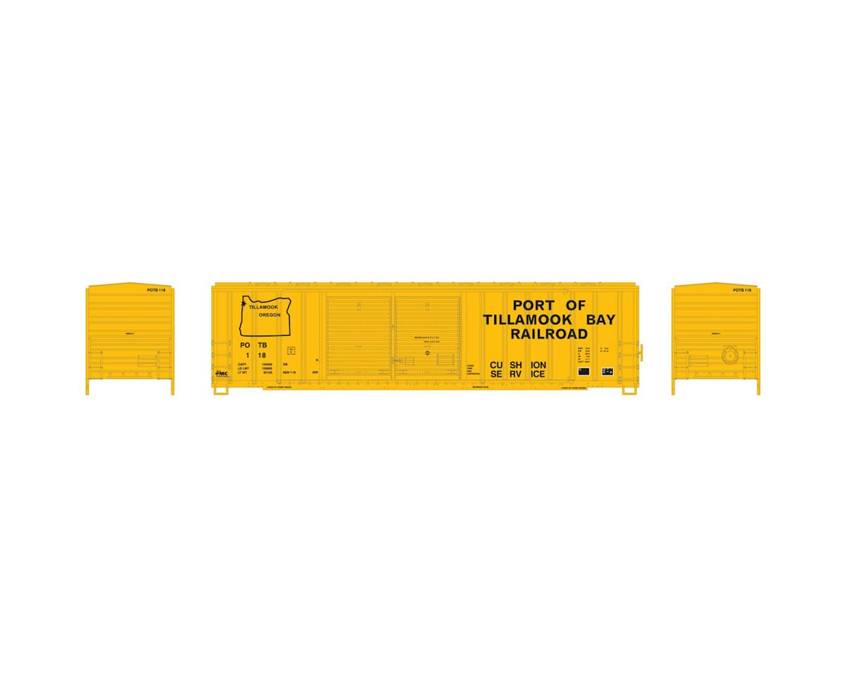 Athearn N 50' FMC Offset Double Door Box, POTB #118