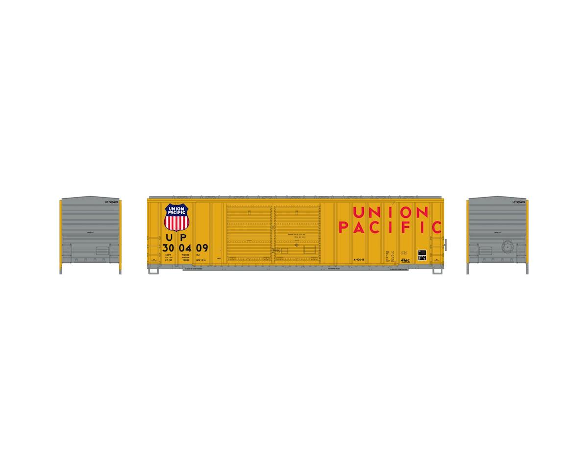 Athearn N 50' FMC Offset Double Door Box, UP #300409