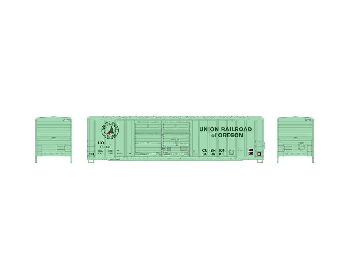 Athearn N 50' FMC Offset Double Door Box, UO #1502
