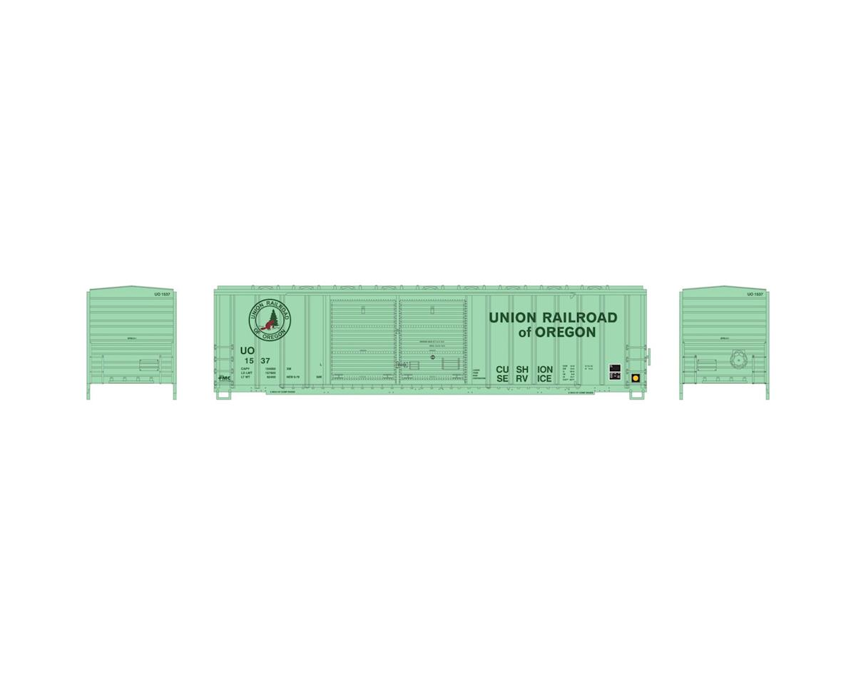 Athearn N 50' FMC Offset Double Door Box, UO #1537