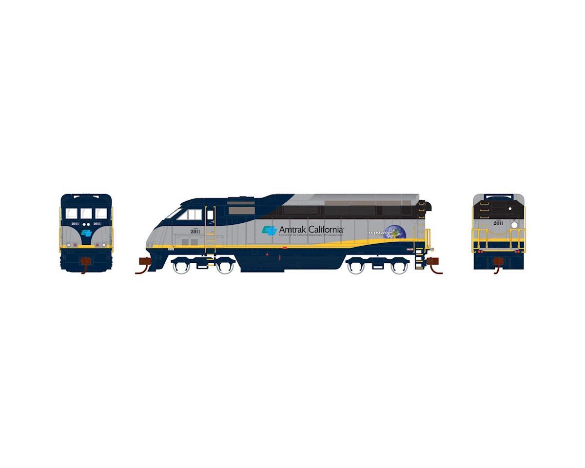 Athearn N F59PHI, Amtrak California #2011