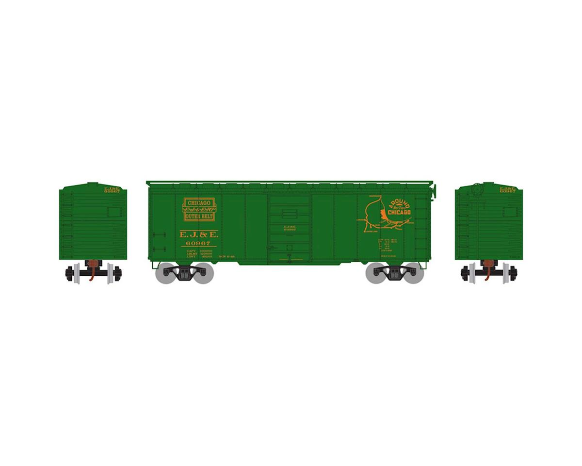 Athearn HO RTR 40' Superior Door Box, EJ&E #60967