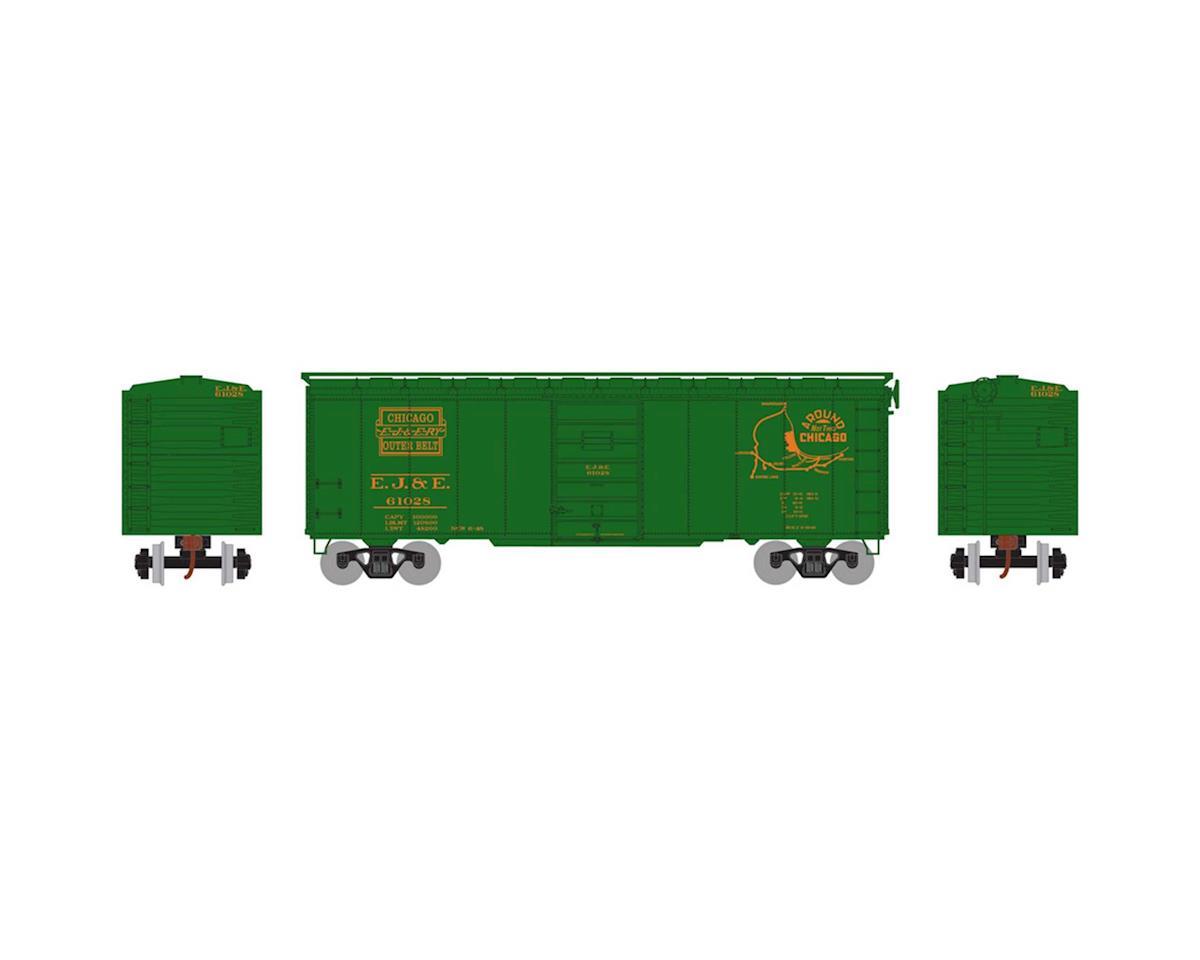Athearn HO RTR 40' Superior Door Box, EJ&E #61028