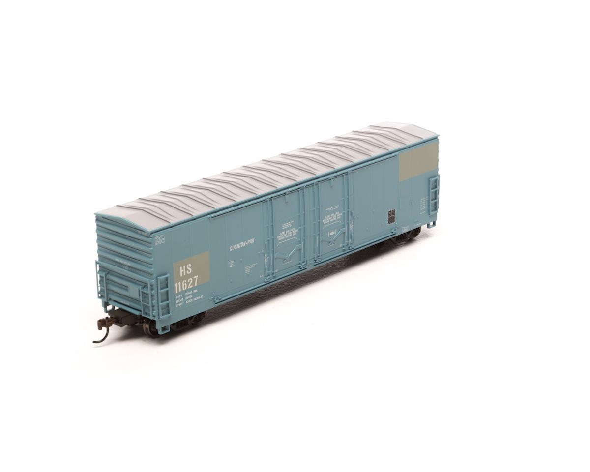 Athearn HO RTR 50' Evans Ex-DW DD Plug Box, H&S #11627