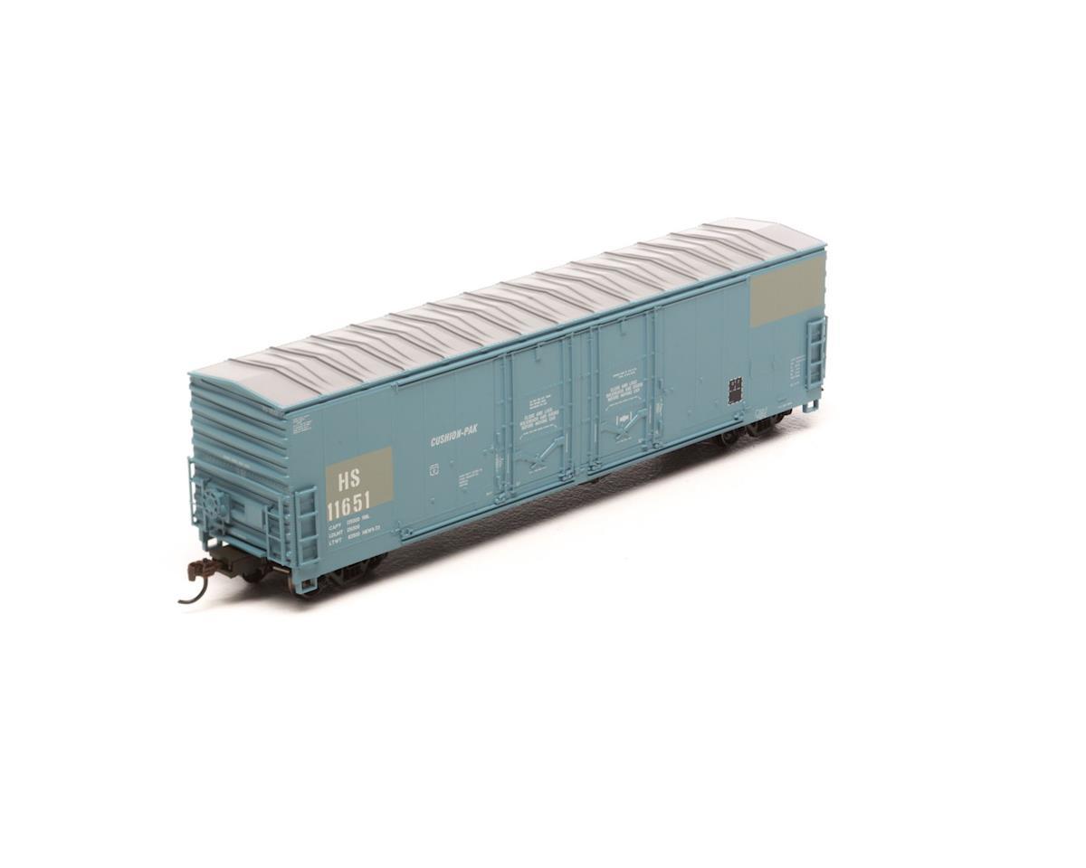 Athearn HO RTR 50' Evans Ex-DW DD Plug Box, H&S #11651