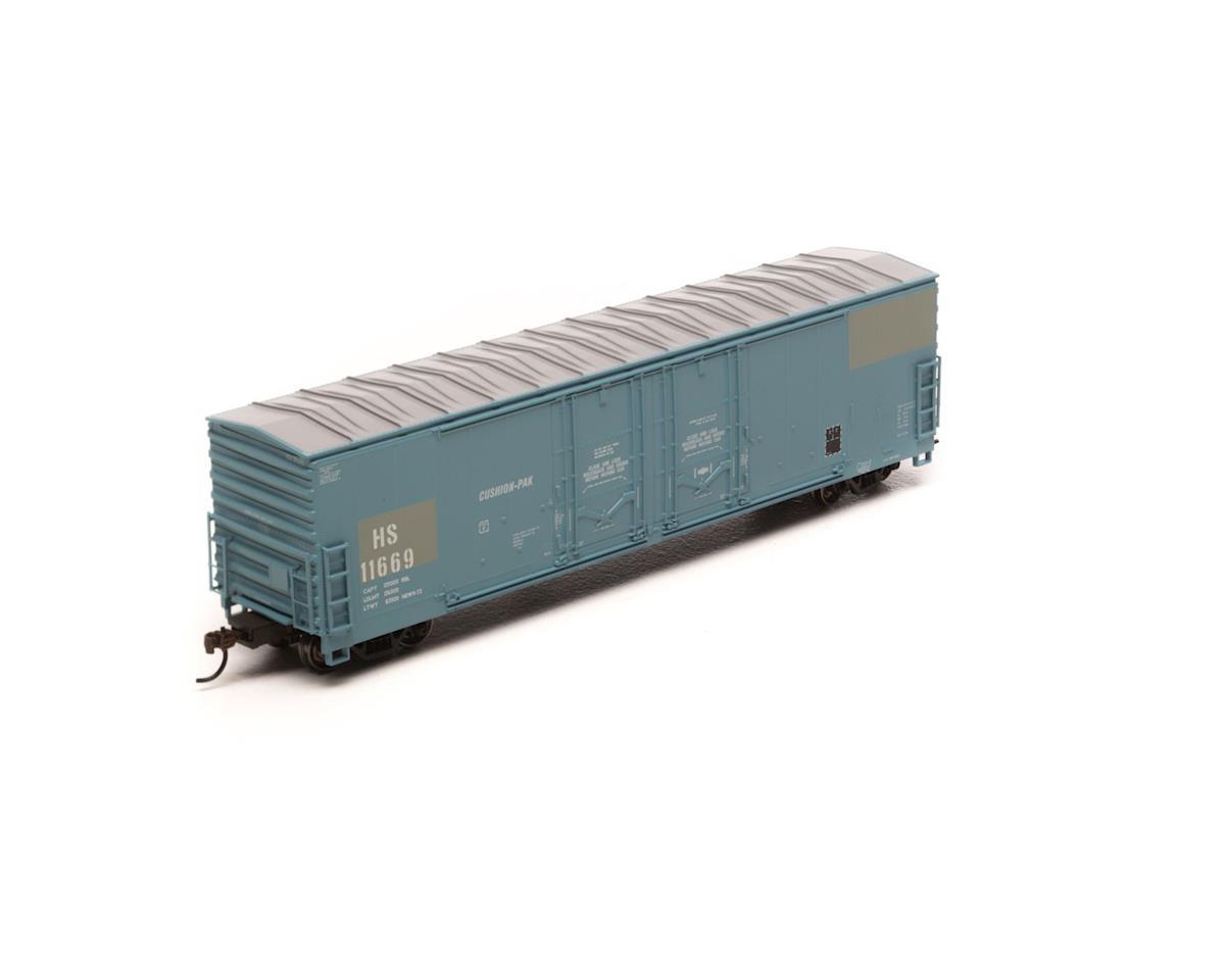 Athearn HO RTR 50' Evans Ex-DW DD Plug Box, H&S #11669