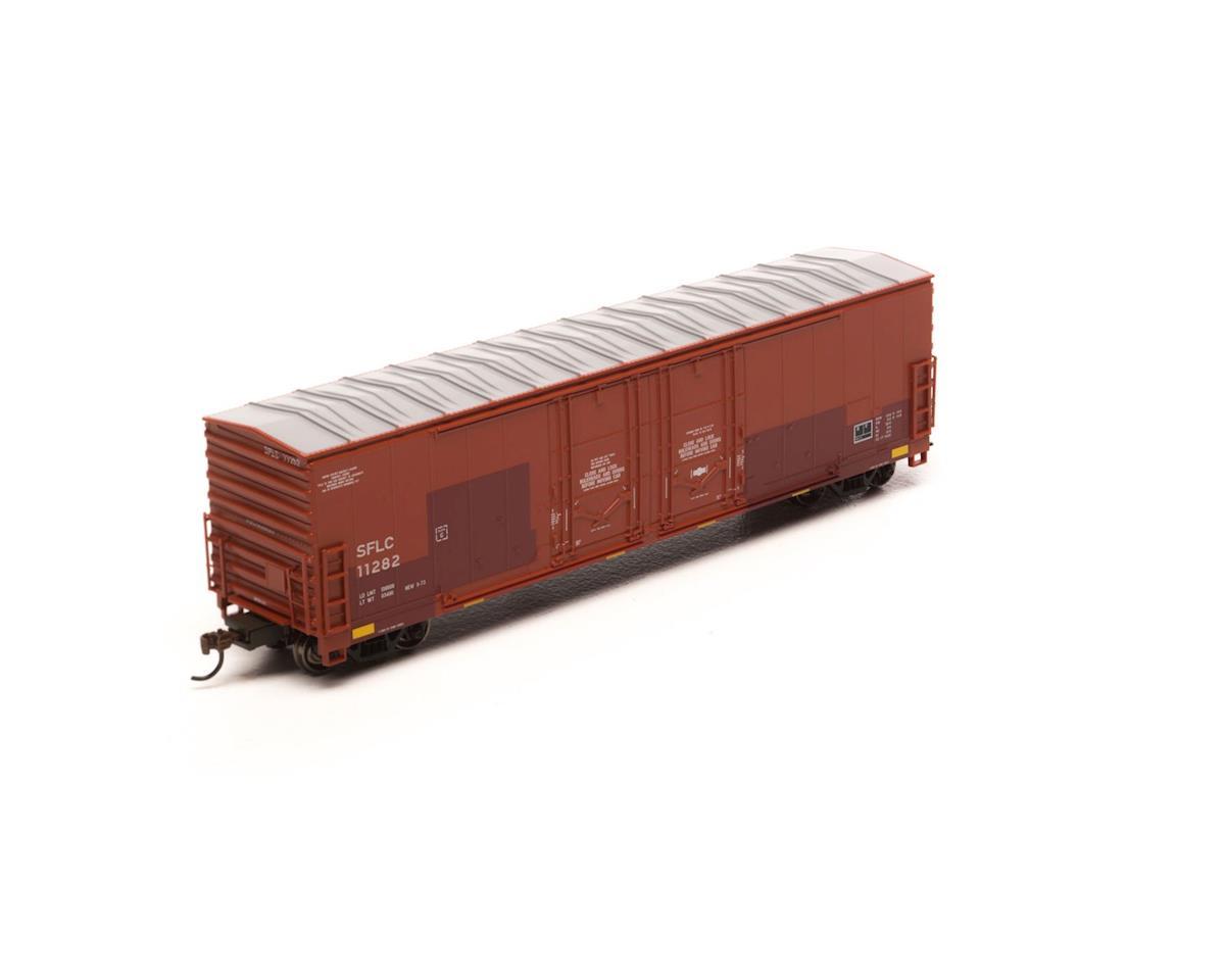 Athearn HO RTR 50' Evans Ex-DW DD Plug Box, SFLC #11282