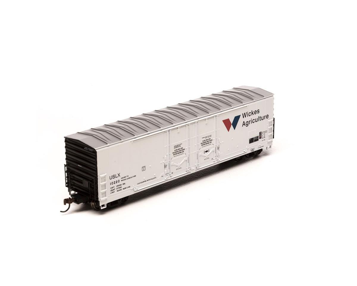 Athearn HO RTR 50' Evans Ex-DW DD Plug Box,USLX/W-A #10220