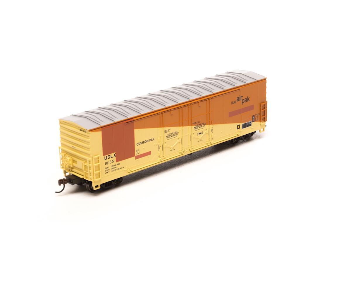 Athearn HO RTR 50'Evans Ex-DW DD Plug Box,USLX/E-R-L#10135