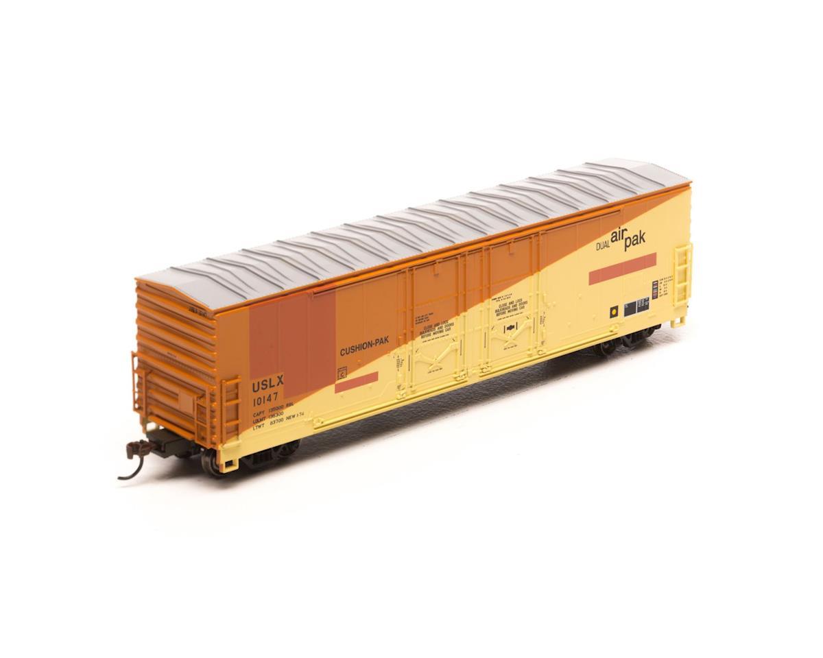 Athearn HO RTR 50'Evans Ex-DW DD Plug Box,USLX/E-R-L#10147