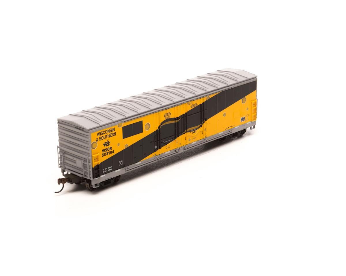 Athearn HO RTR 50' Evans DD Plug Box, WSOR/Sargento/Paint