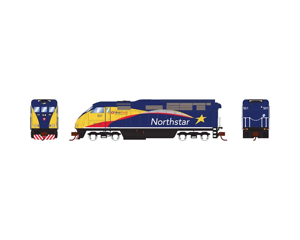 Athearn N F59PHI w/DCC & Sound, Northstar #501