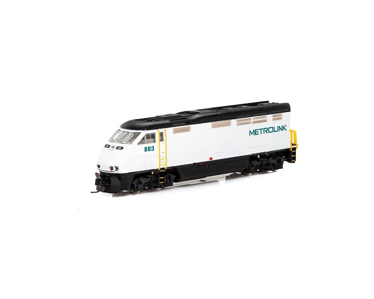 Athearn N F59PHI w/DCC & Sound, Metrolink #883