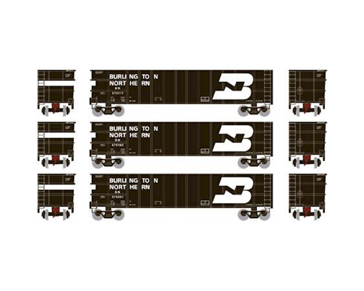 Athearn N Thrall High Side Gondola, BN #2 (3)