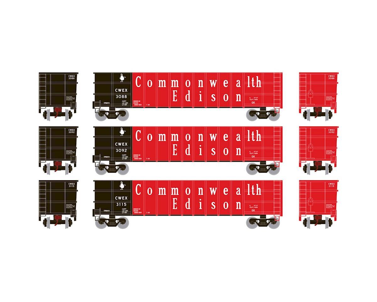 Athearn N Thrall High Side Gondola, CWEX #1 (3)