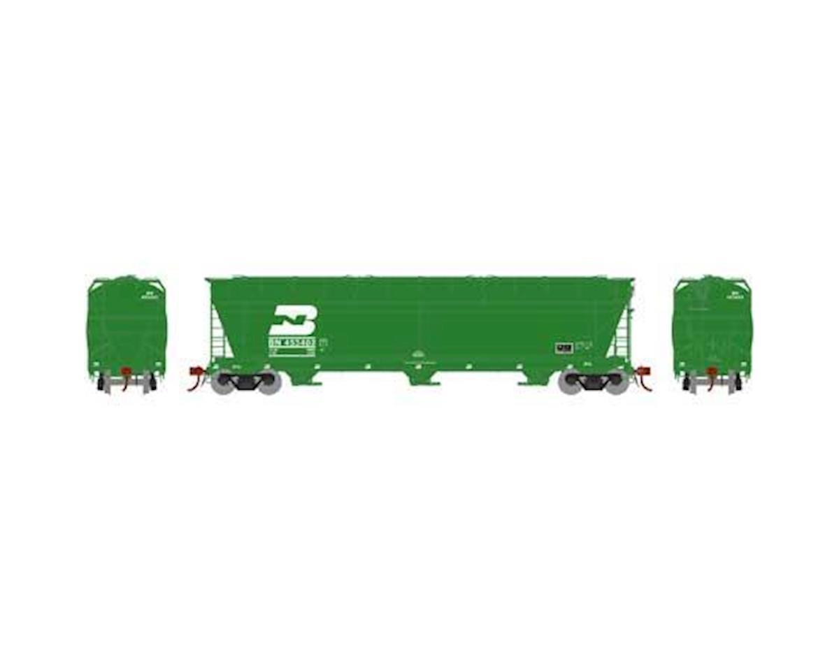 Athearn N ACF 4600 3-Bay Centerflow Hopper, BN #453402