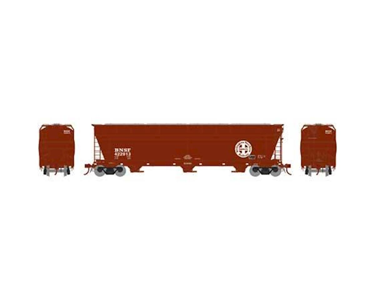 Athearn N ACF 4600 3-Bay Centerflow Hopper, BNSF #422913