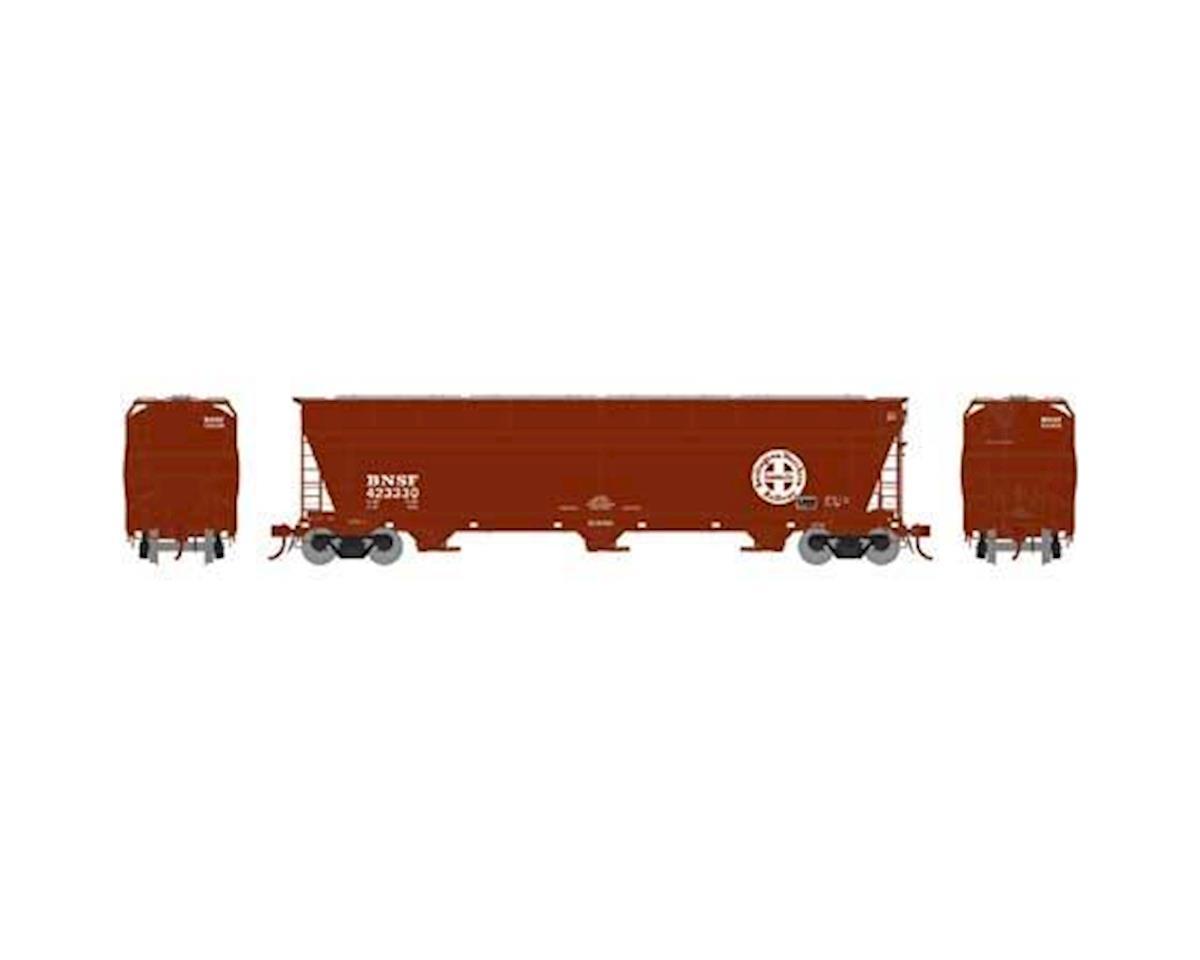 Athearn N ACF 4600 3-Bay Centerflow Hopper, BNSF #423330