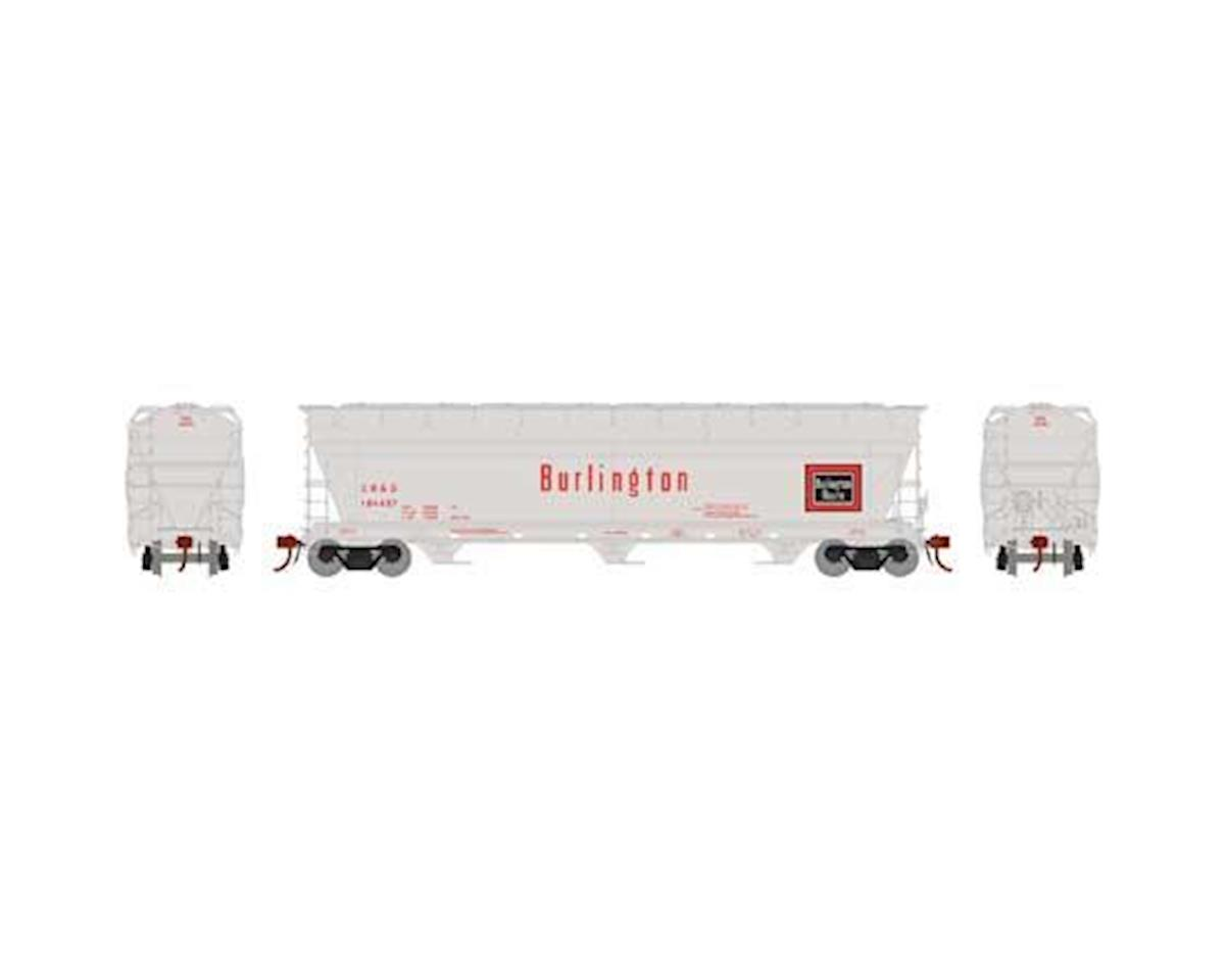 Athearn N ACF 4600 3-Bay Centerflow Hopper,CB&Q #CBQ184497