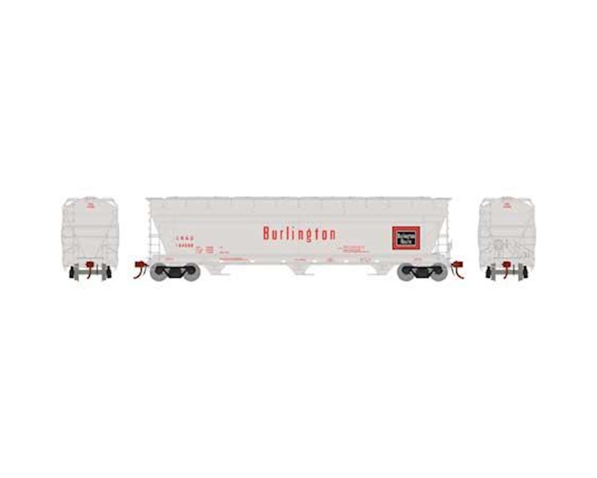Athearn N ACF 4600 3-Bay Centerflow Hopper,CB&Q #CBQ184586
