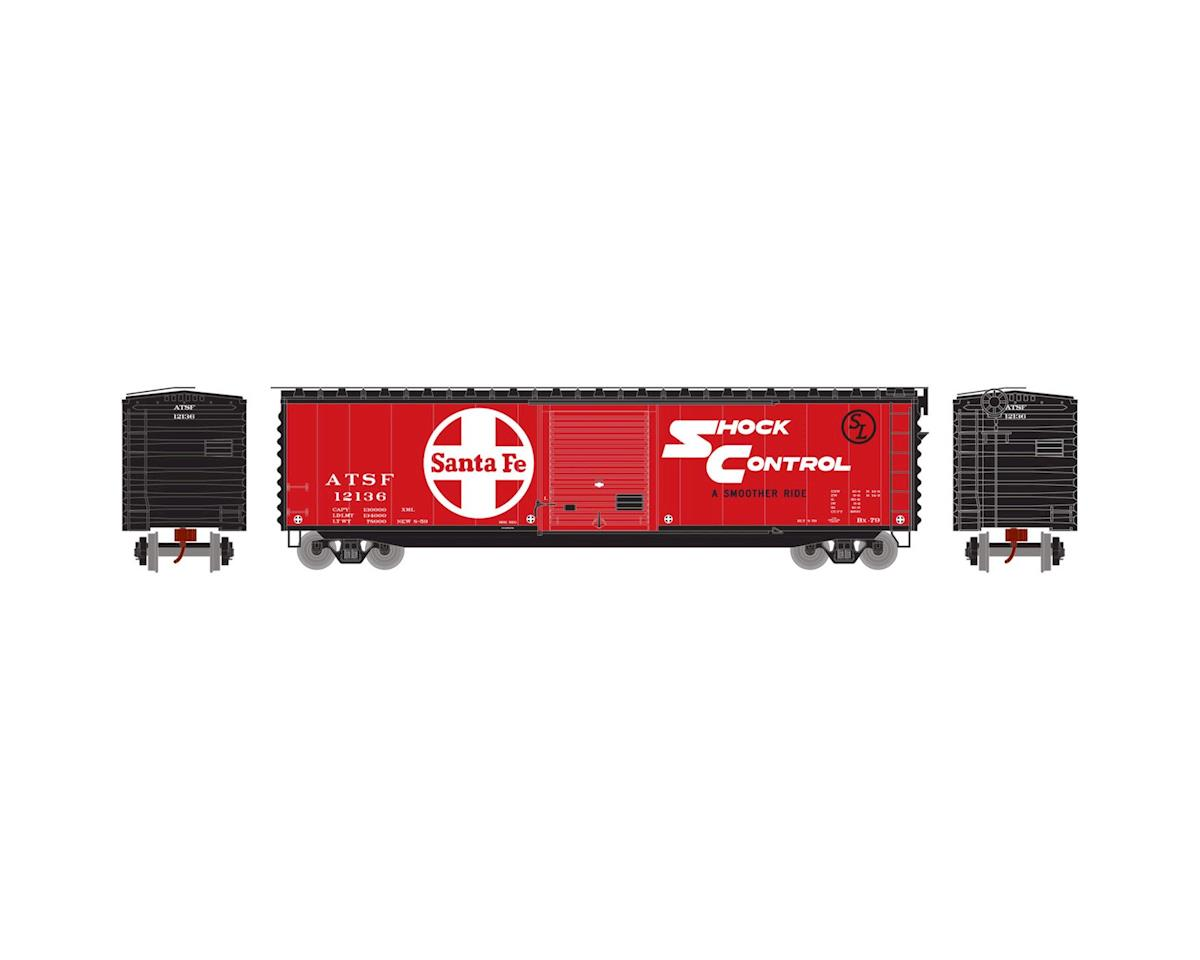 Athearn N 50' PS-1 Single Door Box, SF #12136