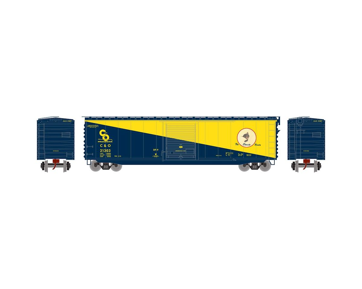 Athearn N 50' PS-1 Single Door Box, C&O #21303