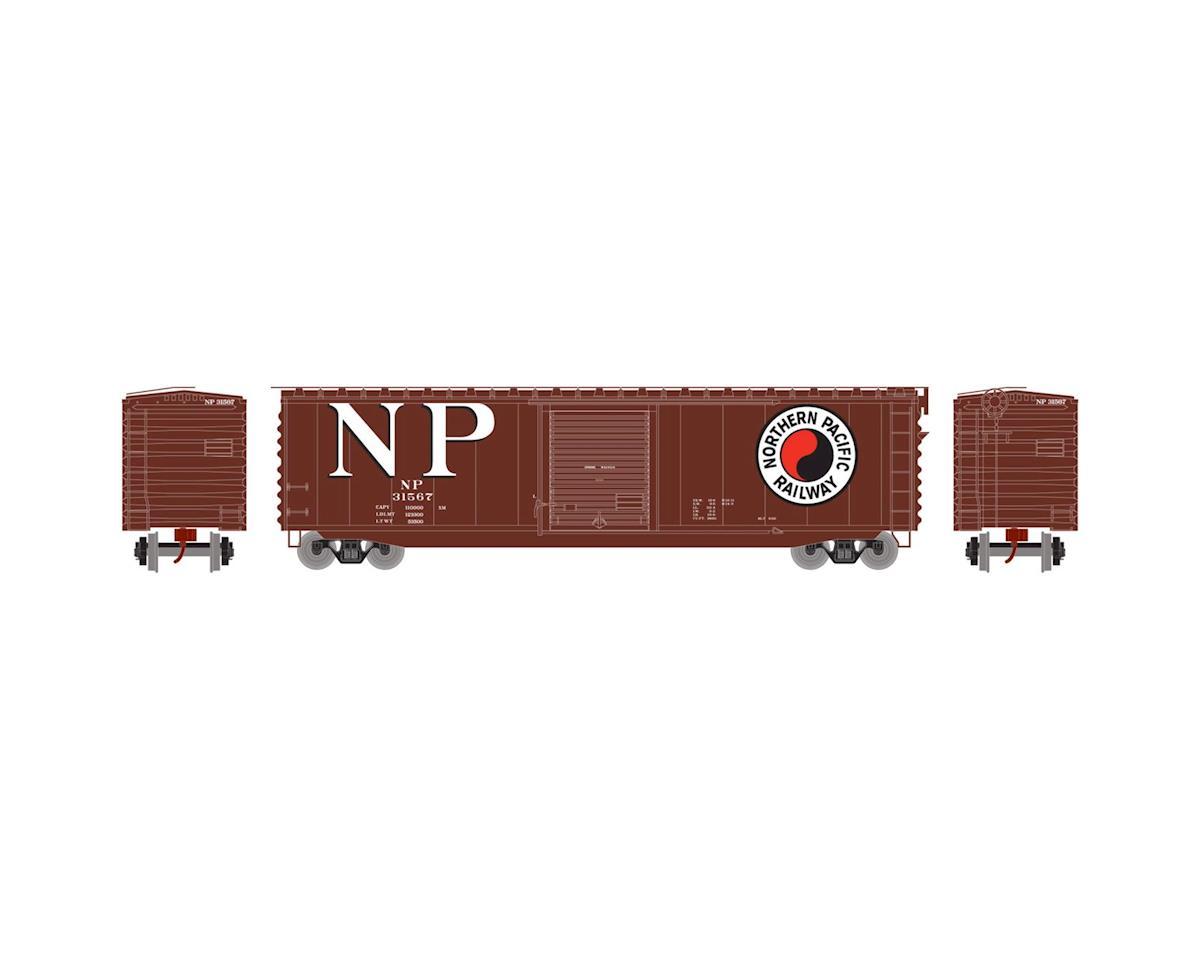 Athearn N 50' PS-1 Single Door Box, NP #31567