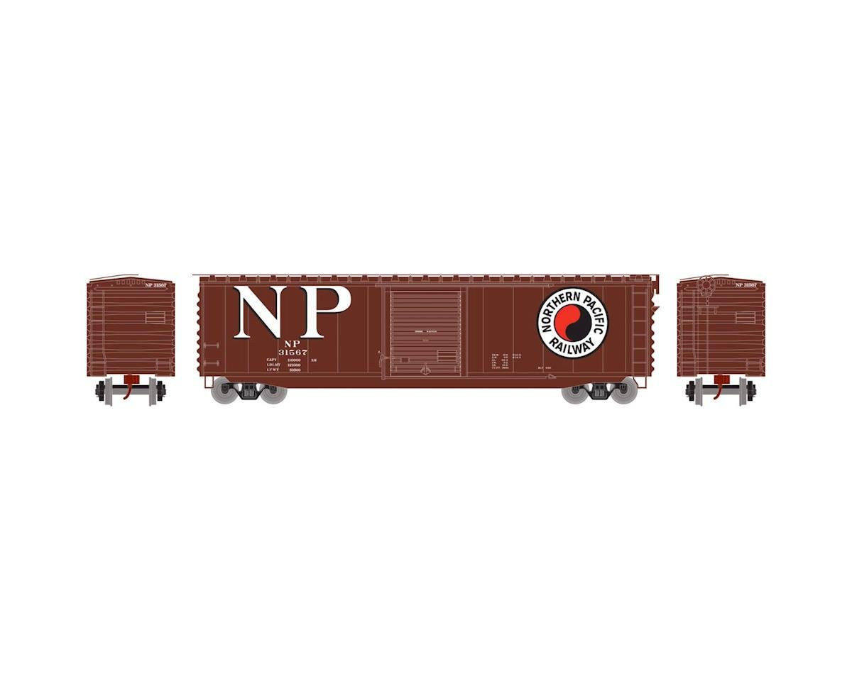 Athearn N 50' PS-1 Single Door Box, NP #31567