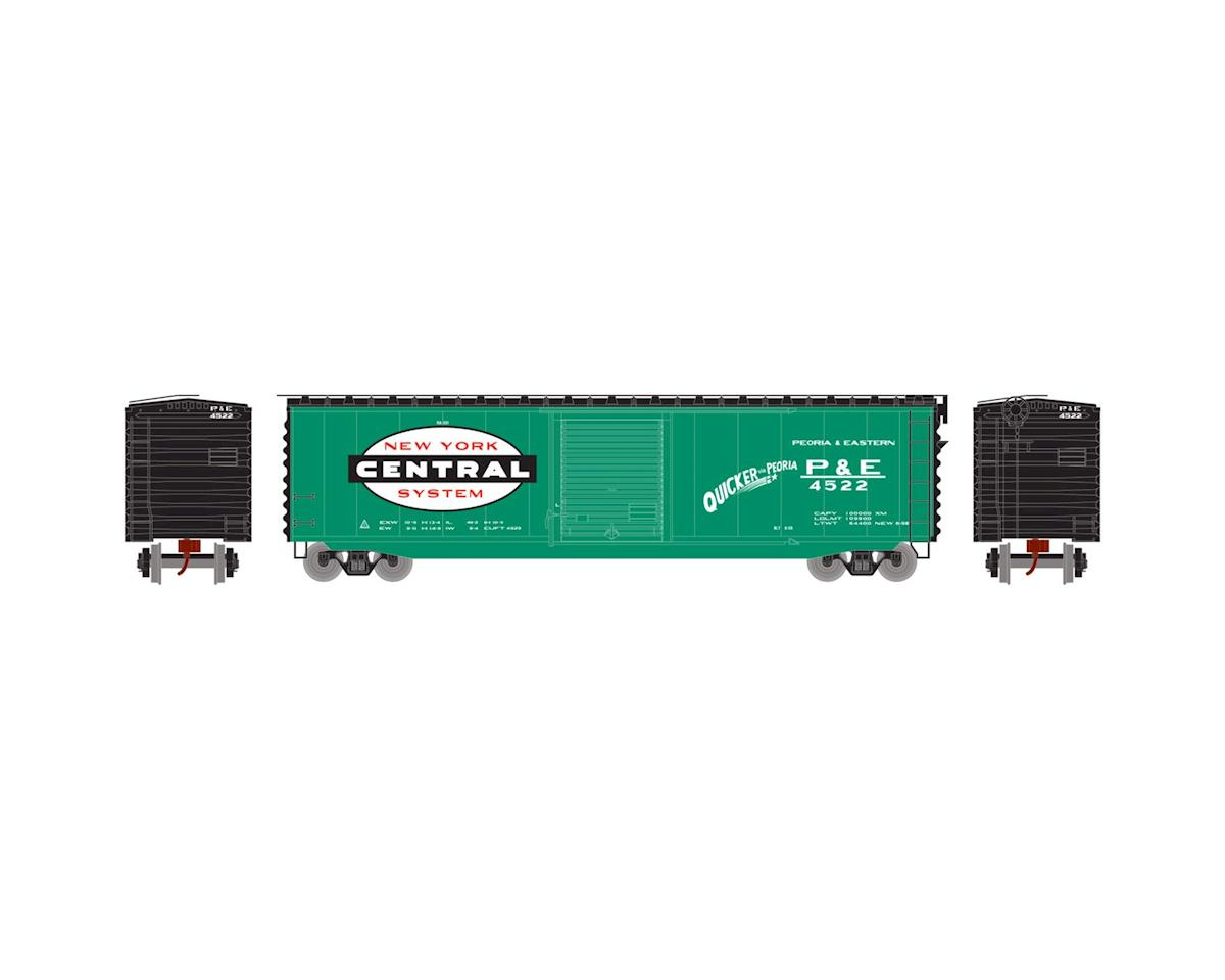 Athearn N 50' PS-1 Single Door Box, NYC/P&E #4522