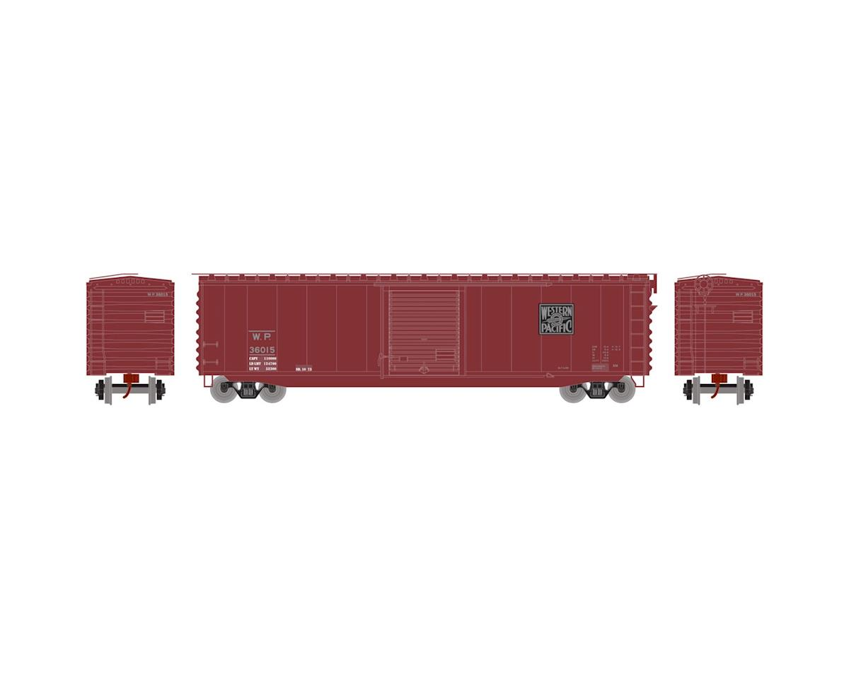 Athearn N 50' PS-1 Single Door Box, WP #36015