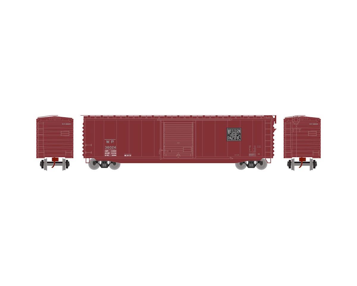 N 50' PS-1 Single Door Box, WP #36024 by Athearn
